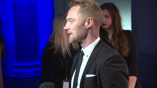ronan keating at gabrielle's gala fundraiser at the old billingsgate on may 7, 2014 in london, england. - ronan keating stock videos & royalty-free footage