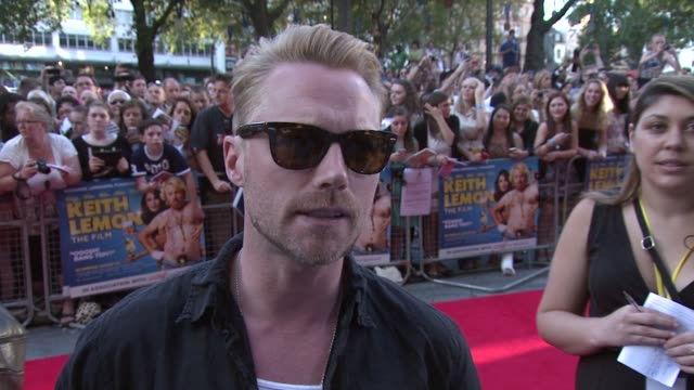 ronan keating on what audiences can expect what leigh francis is like off camera his new album his love of pop music atkeith lemon the film uk... - ronan keating stock videos & royalty-free footage