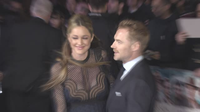 ronan keating, storm keating at 'another mother's son' - world premiere at odeon leicester square on march 16, 2017 in london, england. - ronan keating stock videos & royalty-free footage