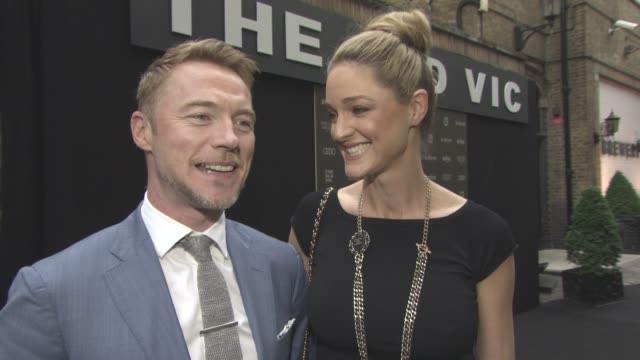 interview ronan keating storm keating on babies milk date nights new parents and the theatre at the old vic 199 summer party at the brewery on june... - ronan keating stock videos & royalty-free footage