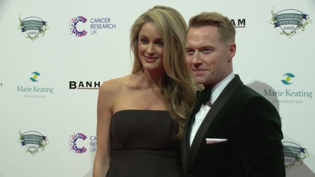 ronan keating storm keating on february 25 2017 in london england - ronan keating stock videos & royalty-free footage