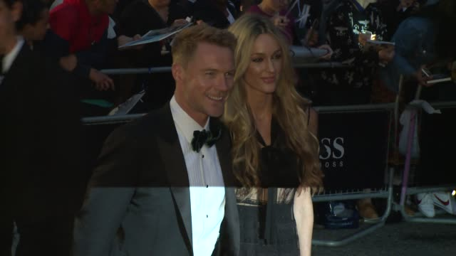 ronan keating, storm keating on september 05, 2017 in london, england. - ronan keating stock videos & royalty-free footage