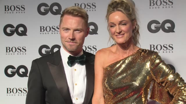 ronan keating, storm keating on september 05, 2018 in london, united kingdom. - ronan keating stock videos & royalty-free footage
