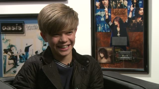 Ronan Parke on why he likes 'Lady GaGa' at the Ronan Parke Interview at London England