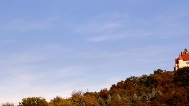 ronneburg castle, assia, germania - stile del xvi secolo video stock e b–roll