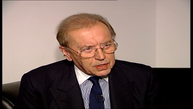 int sir david frost interview sot his timing was supreme/ he was one of greatest sketch players of all time - timer stock videos & royalty-free footage