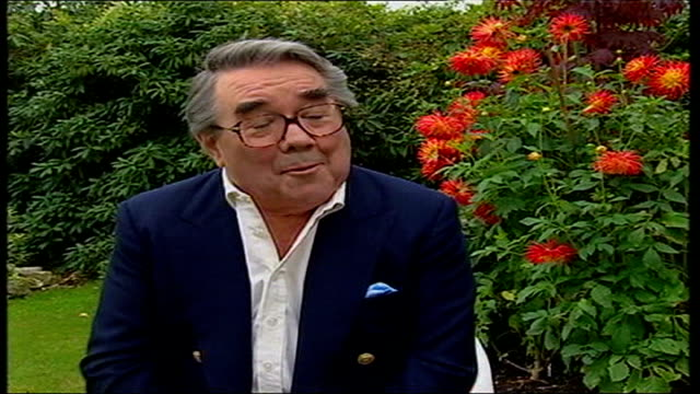 ronnie barker dies; england: surrey: ext ronnie corbett interview sot - he was daunting to do a funny voice alongside because they came to him with... - ronnie corbett stock-videos und b-roll-filmmaterial