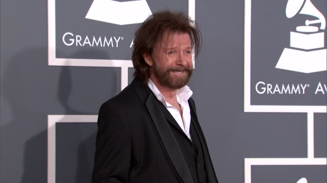 ronnie dunn at the 55th annual grammy awards arrivals in los angeles ca on 2/10/13 - grammy awards stock videos and b-roll footage