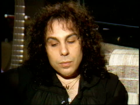 Ronnie James Dio talks about the resurgence of heavy metal music and how New Wave music is pushing it out again but it will always have a loyal fan...