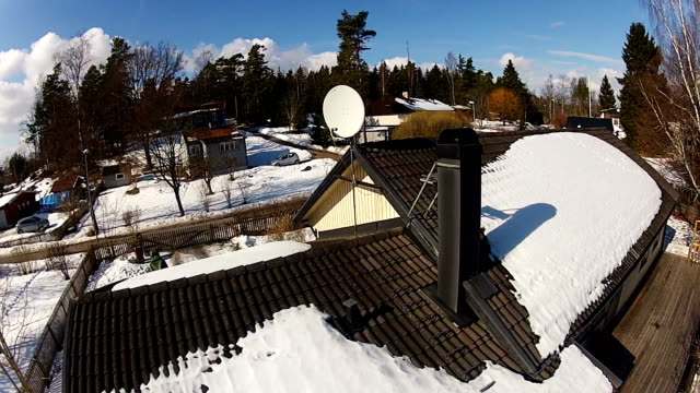 roof inspection - quadcopter stock videos & royalty-free footage