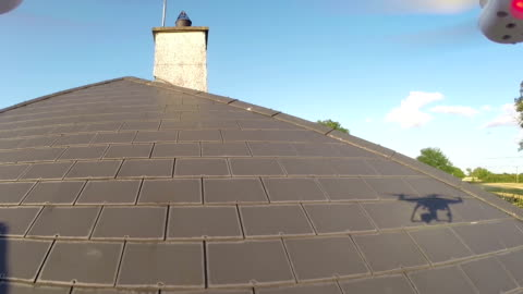 roof inspection with a drone - quality control stock videos & royalty-free footage