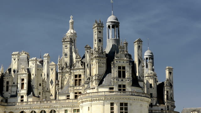Roof of Chateau de Chambord
