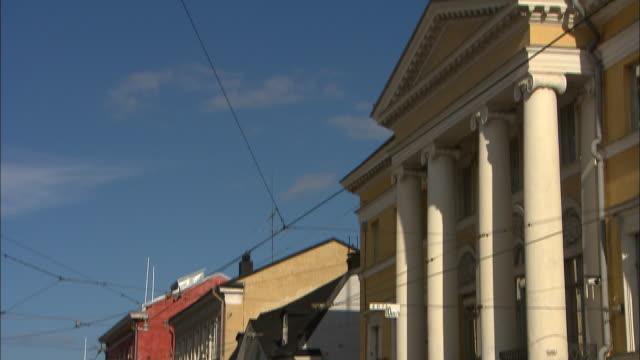 Roof to Street, Helsinki, Finland