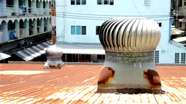 roof ventilator - pipe stock videos and b-roll footage