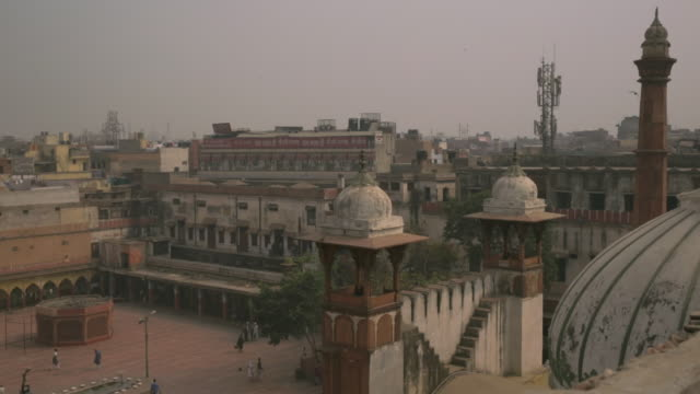 Roof view from a mosque in India.