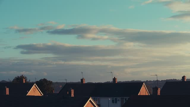 roofs clouds time lapse - condensation stock videos & royalty-free footage