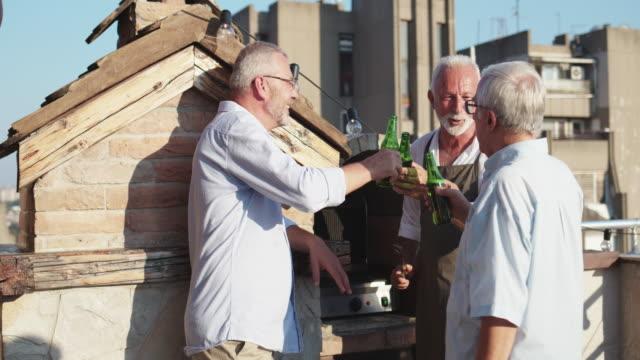 BBQ auf der Dachterrasse
