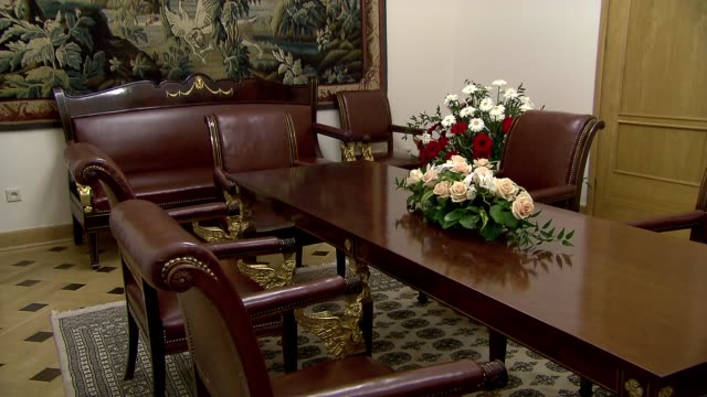 room in ministry of foreign affairs - government minister stock videos & royalty-free footage