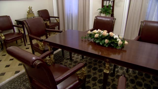 room in ministry of foreign affairs - home showcase interior stock videos & royalty-free footage