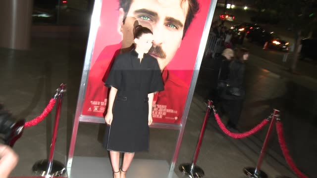 """rooney mara at """"her"""" los angeles premiere in los angeles, ca, on . - premiere event stock videos & royalty-free footage"""