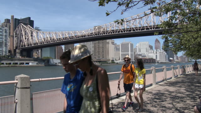 Roosevelt Island Waterfront, Queensboro / 59th Street Bridge & East River