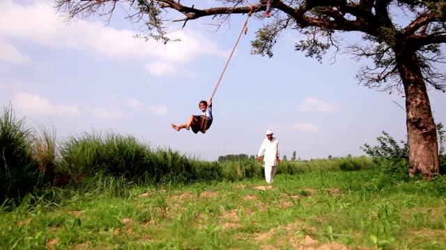 rope swing - rope swing stock videos & royalty-free footage