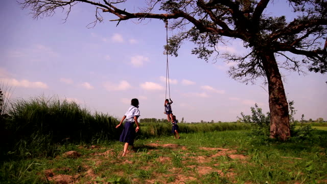 rope swing - swing stock videos and b-roll footage