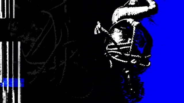 ropeman blau - sado maso stock-videos und b-roll-filmmaterial