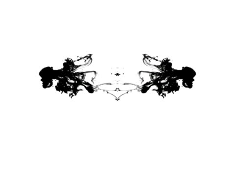 Rorschach test Ink Blots