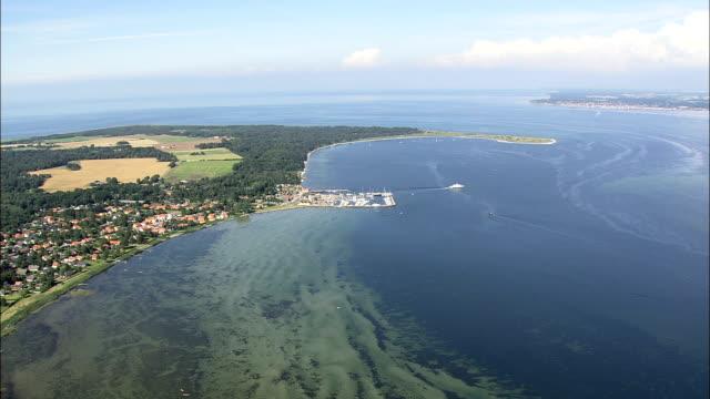 Rorvig To Hundested  - Aerial View - Zealand, Odsherred Kommune, Denmark