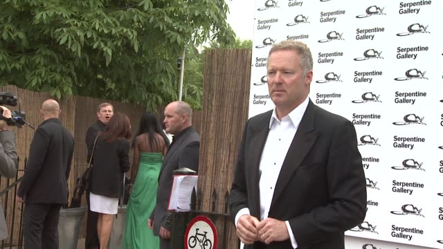 rory bremner at the serpentine gallery summer party at london england. - rory bremner stock videos & royalty-free footage