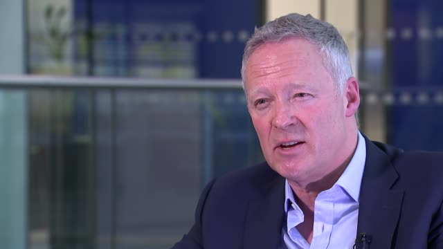 rory bremner interview; england: london: int rory bremner interview sot - re death of victoria wood - rory bremner stock videos & royalty-free footage