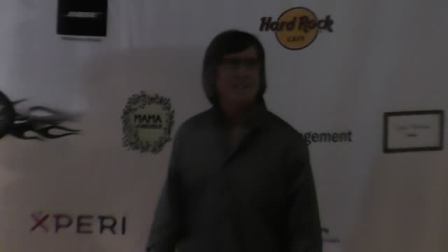 rory kaplan at the 5th annual rock godz hall of fame awards at hard rock cafe on october 26, 2017 in hollywood, california. - ハードロックカフェ点の映像素材/bロール