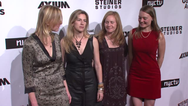 rory kennedy and guests at the 17th annual gotham awards presented by ifp at steiner studios in brooklyn, new york on november 27, 2007. - independent feature project stock videos & royalty-free footage