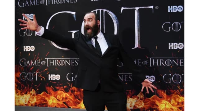 Rory McCann attends the 'Game Of Thrones' season 8 premiere on April 3 2019 in New York City