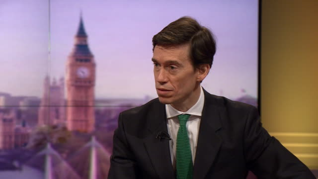 rory stewart saying he announced his intention to run for leadership two weeks before he was appointed to the cabinet - running stock videos & royalty-free footage