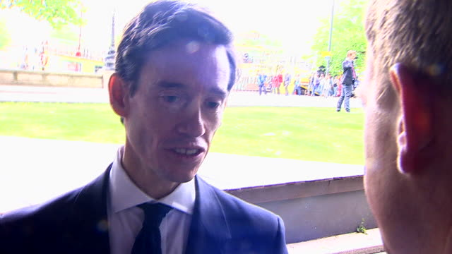 rory stewart saying it would be a complete disgrace if boris johnson was coronated leader and the public were denied the chance to scrutinise him - scrutiny stock videos & royalty-free footage