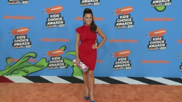 rosa blasi at the nickelodeon's 2018 kids' choice awards at the forum on march 24, 2018 in inglewood, california. - nickelodeon stock videos & royalty-free footage