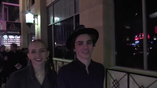 Rosa Pottorff and Sam Pottorff leave the premiere of Father Figures at TCL Chinese Theatre in Hollywood Celebrity Sightings on December 13 2017 in...