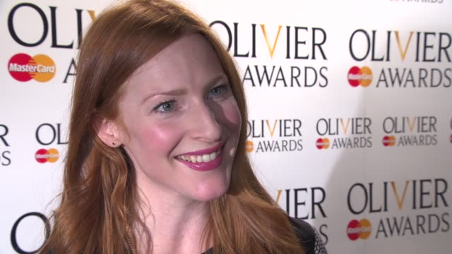 INTERVIEW Rosalie Craig on being nominated what it means to her the importance of theater in the West End at The Laurence Olivier Awards nominees...