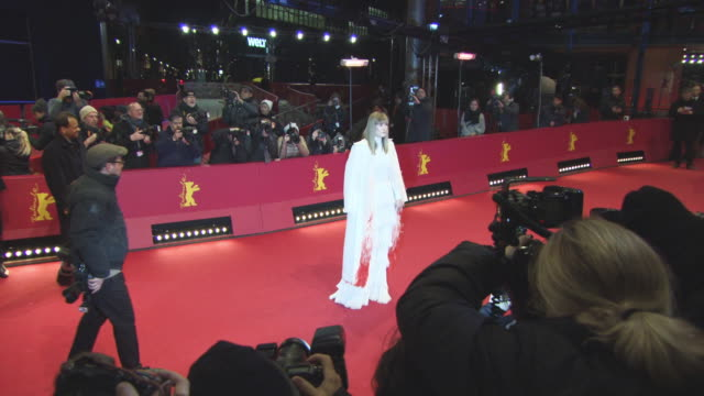 capsule rosamund pike and daniel bruhl at 68th berlin film festival 7 days in entebbe red carpet at grand hyatt hotel on february 19 2018 in berlin... - rosamund pike stock videos & royalty-free footage