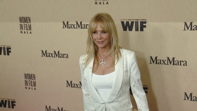 rosanna arquette at 2019 women in film annual gala presented by max mara with additional support from partners delta air lines and lexus at the... - the beverly hilton hotel stock videos & royalty-free footage