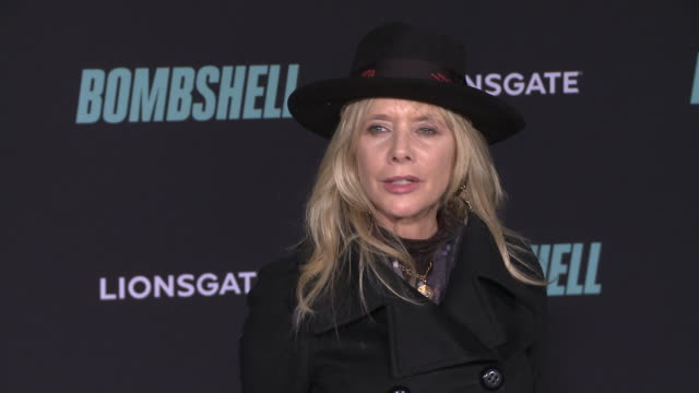 "rosanna arquette at ""bombshell"" special screening on december 10, 2019 in los angeles, california. - rosanna arquette stock videos & royalty-free footage"