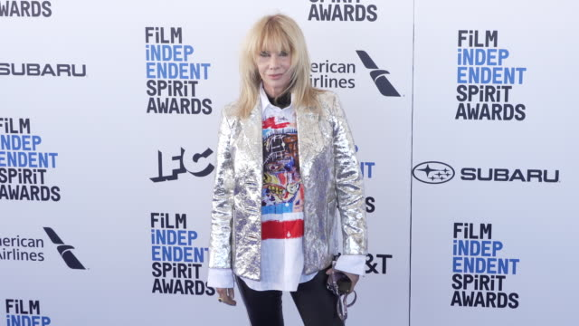 rosanna arquette at the 2019 film independent spirit awards on february 23, 2019 in santa monica, california. - rosanna arquette stock videos & royalty-free footage