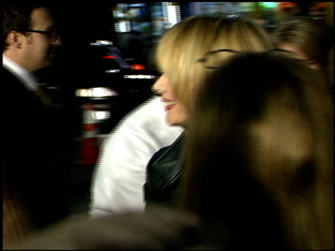 rosanna arquette at the '3000 miles to graceland' premiere at grauman's chinese theatre in hollywood, california on february 21, 2001. - rosanna arquette stock videos & royalty-free footage