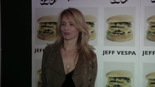Rosanna Arquette at the Jeff Vespa's Eat Me Art Show Opening at the LoFi Gallery in Los Angeles California on May 4 2006