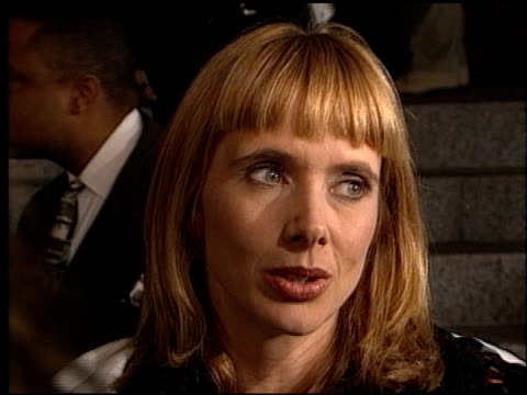 rosanna arquette at the 'kundun' premiere at avco cinema in westwood, california on december 15, 1997. - rosanna arquette stock videos & royalty-free footage