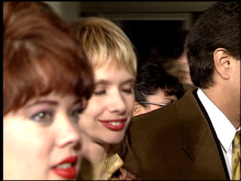 rosanna arquette at the 'sunset boulevard' premiere at shubert theater in century city, california on november 30, 1993. - rosanna arquette stock videos & royalty-free footage
