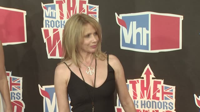 rosanna arquette at the vh1 rock honors at los angeles ca. - rosanna arquette stock videos & royalty-free footage