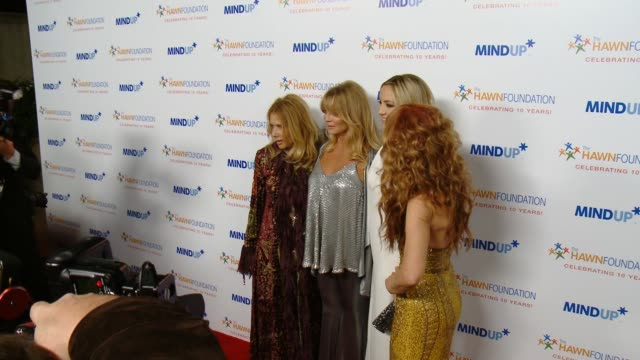 Rosanna Arquette Goldie Hawn Kate Hudson Kathy Griffin at Goldie Hawn's Inaugural 'Love In For Kids' Benefitting The Hawn Foundation's MindUP Program...